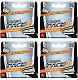 Dorco Pace 4- Four Blade Razor Shaving System- Value Pack - 16 Cartridges (No Handle)