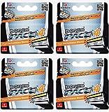 Beauty : Dorco Pace 4- Four Blade Razor Shaving System- Value Pack - 16 Cartridges (No Handle)