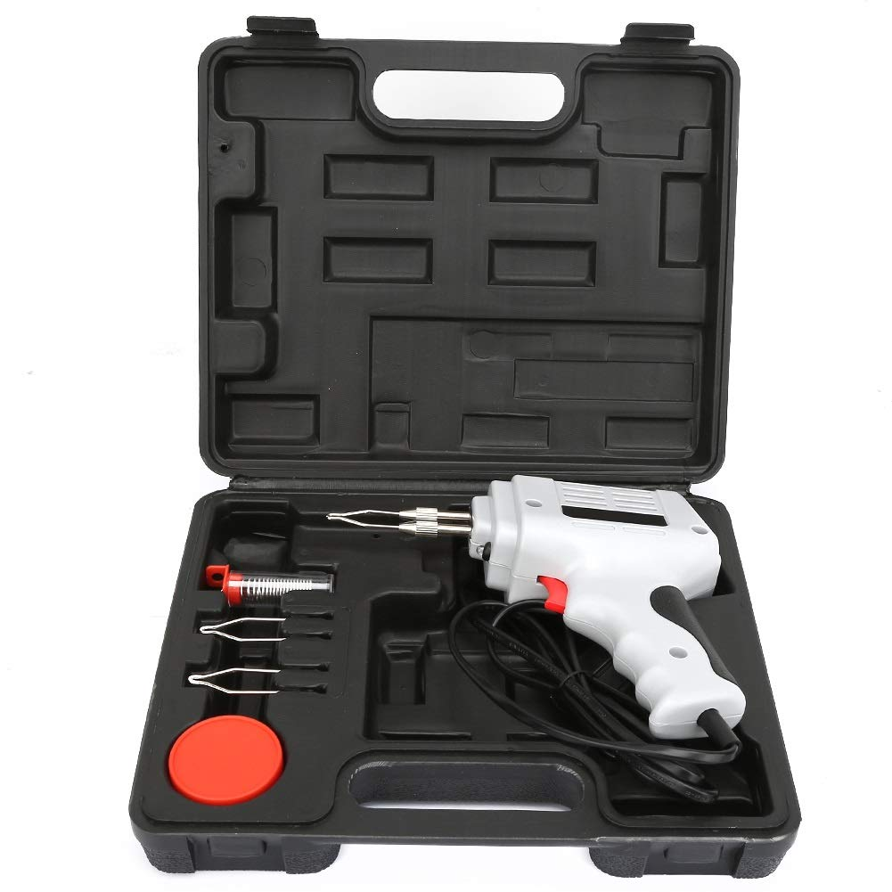 Delaman Elektro-L/ötkolben-Kit 100W Industrial Elektro-L/ötkolben-Kit L/öt-Reparaturwerkzeug-Set EU-Stecker 220-240V