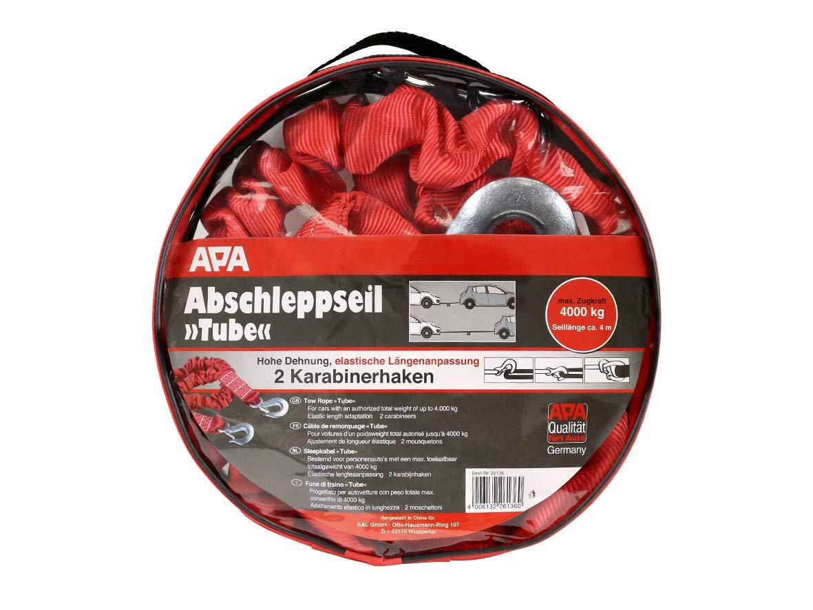 APA 26136 Abschleppseil Tube Zugkraft 4000 kg max