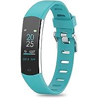 BingoFit Kids Fitness Tracker, Slim Sport Activity Tracker met hartslagmeter, waterdicht stappenteller horloge met…