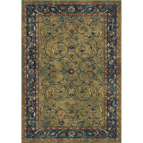 Amazon Com Orian Rugs Bohemian Zettia Green Area Rug 7