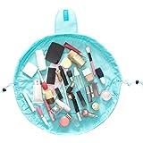 Schminktaschen mit Kordelzug Sansee Portable Reise Drawstring Makeup Taschen Kosmetika Organizer Lagerung Kulturbeutel Kordelzug Kosmetiktäschchen (Schwarz)