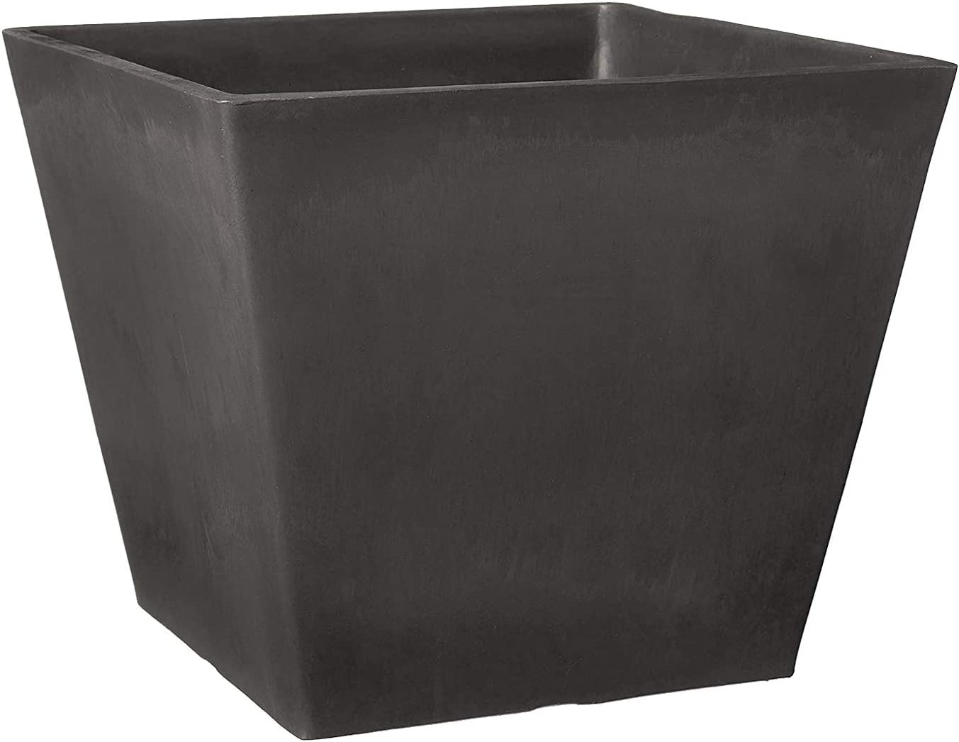 Arcadia Garden Products UF31DC Simplicity Square, 12 by 10-Inch, 12 by 12, Dark Charcoal