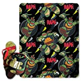 "Best Nickelodeon Blankets - Nickelodeon's Teenage Mutant Ninja Turtles,""Ralph Strikes"" Printed Fleece Review"