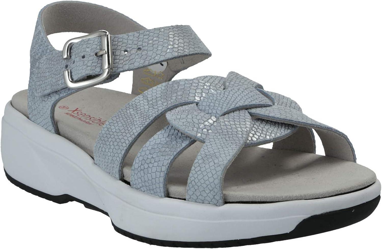 XSENSIBLE Ambon-Bequeme Sandalette mit herausnehmbaren Fußbett Hell Blau