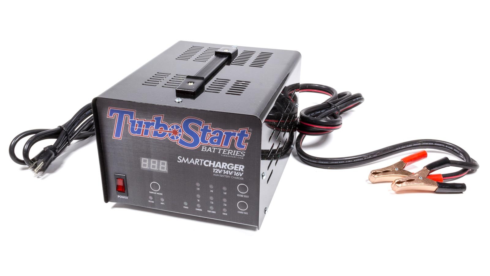 Turbostart CHG25A Multi-Stage Charger by TurboStart