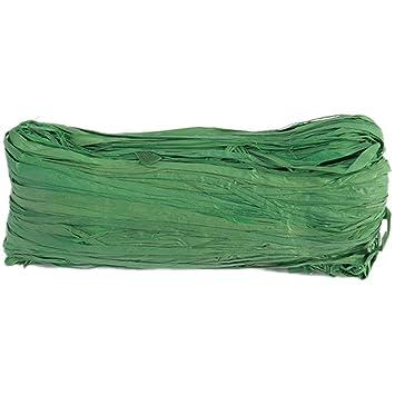 Dekoband Raffia Bast 4 mm 50 g grün Raffiaband Bunt Schleifenband Geschenkband