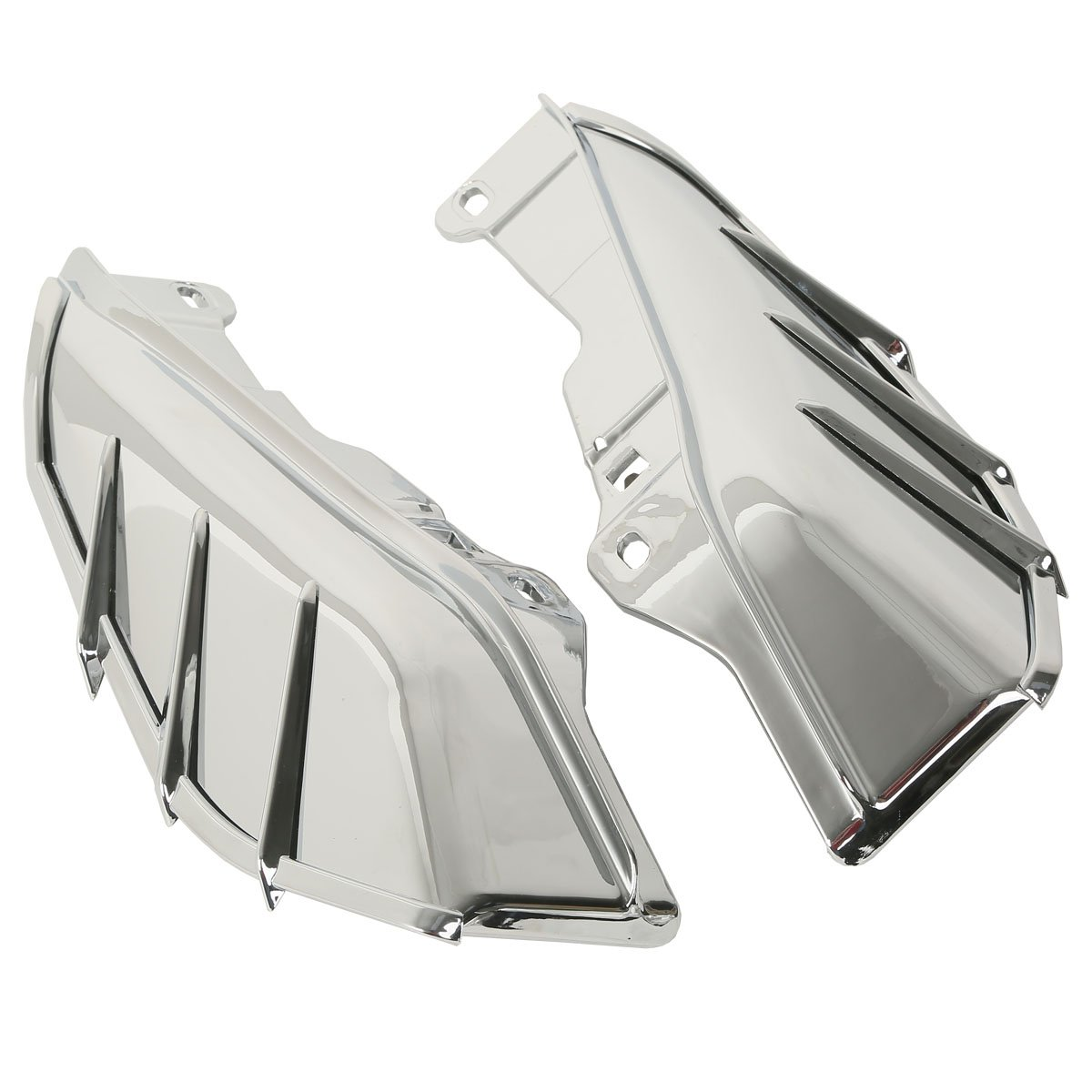 xmt-moto mid-frame Air Deflectors W / TRIM FOR HARLEY TOURING Trikeモデル09 – 17 Motorcycle ブラック XMTXF2906188-01-NEW-01 B0756XSPQJ ブラック