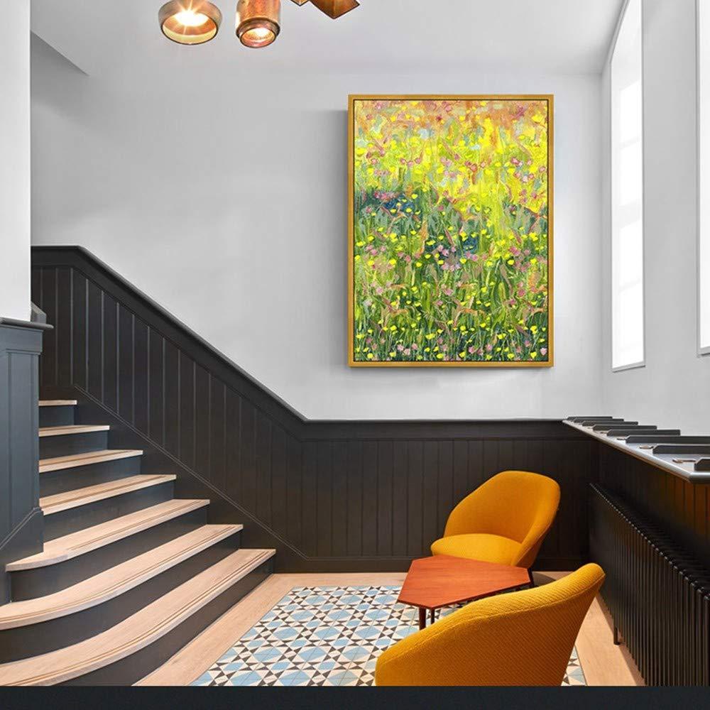 OME&MEI Decoración De La Sala Porche De Pintura Porche Sala Pasarela Restaurante Dormitorio Mural Flor Sin Marco-40X60Cm 39c25b