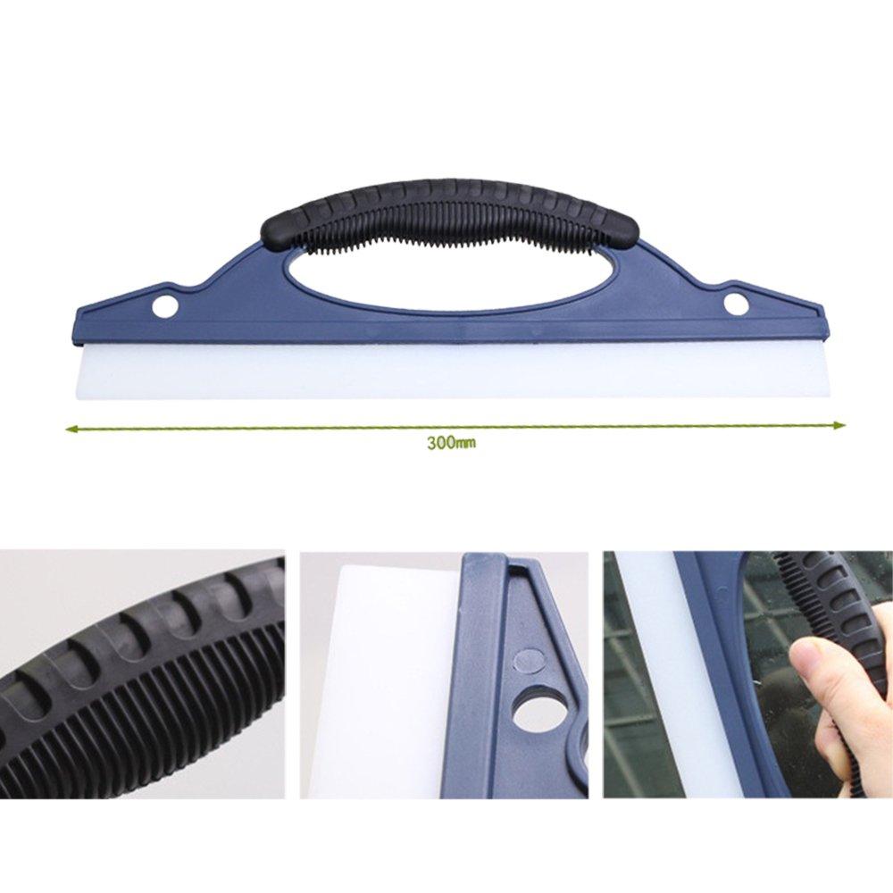 Roblue 1/pcs Raschietto per ghiaccio per auto raclettes per pulizia di finestre in silicone raschietto d acqua 30/cm