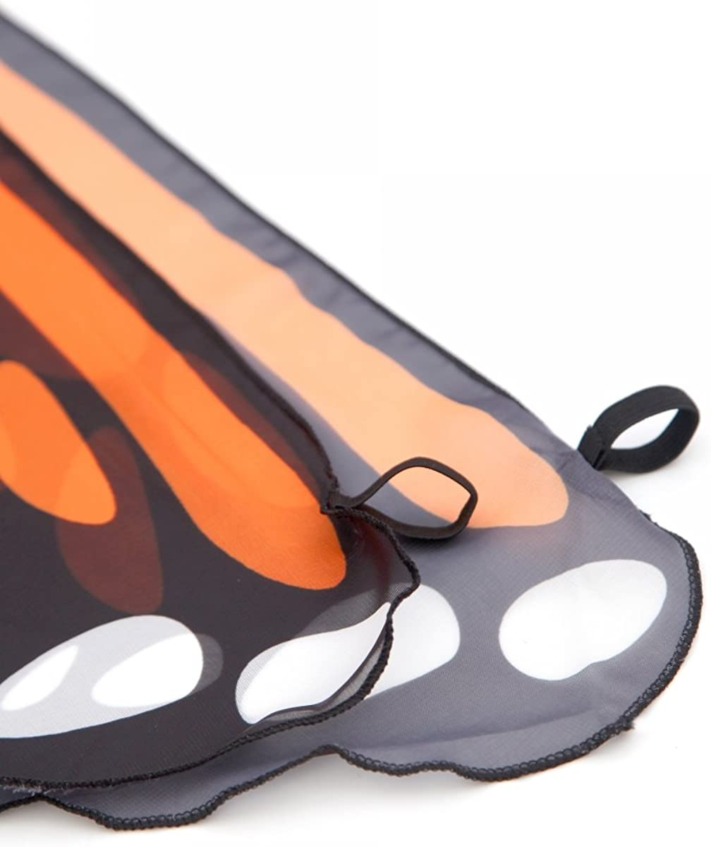 CISMARK Monarch Butterfly Wings Costume for Halloween Party