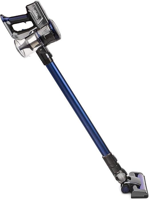 H.Koenig UP700 Aspiradora Escoba Sin Cable 2 en 1, Aspiradora de Mano, 120 W, 22.2 V, Filtro HEPA, Sin Bolsa, 2 Velocidades, Silenciosa, 35 Minutos de Autonomía, Limpieza profesional, Ligera, Azul: Amazon.es: Hogar