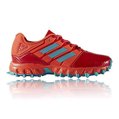 size 40 c241b c620a adidas Lux Junior Hockey Shoes, Red, UK3