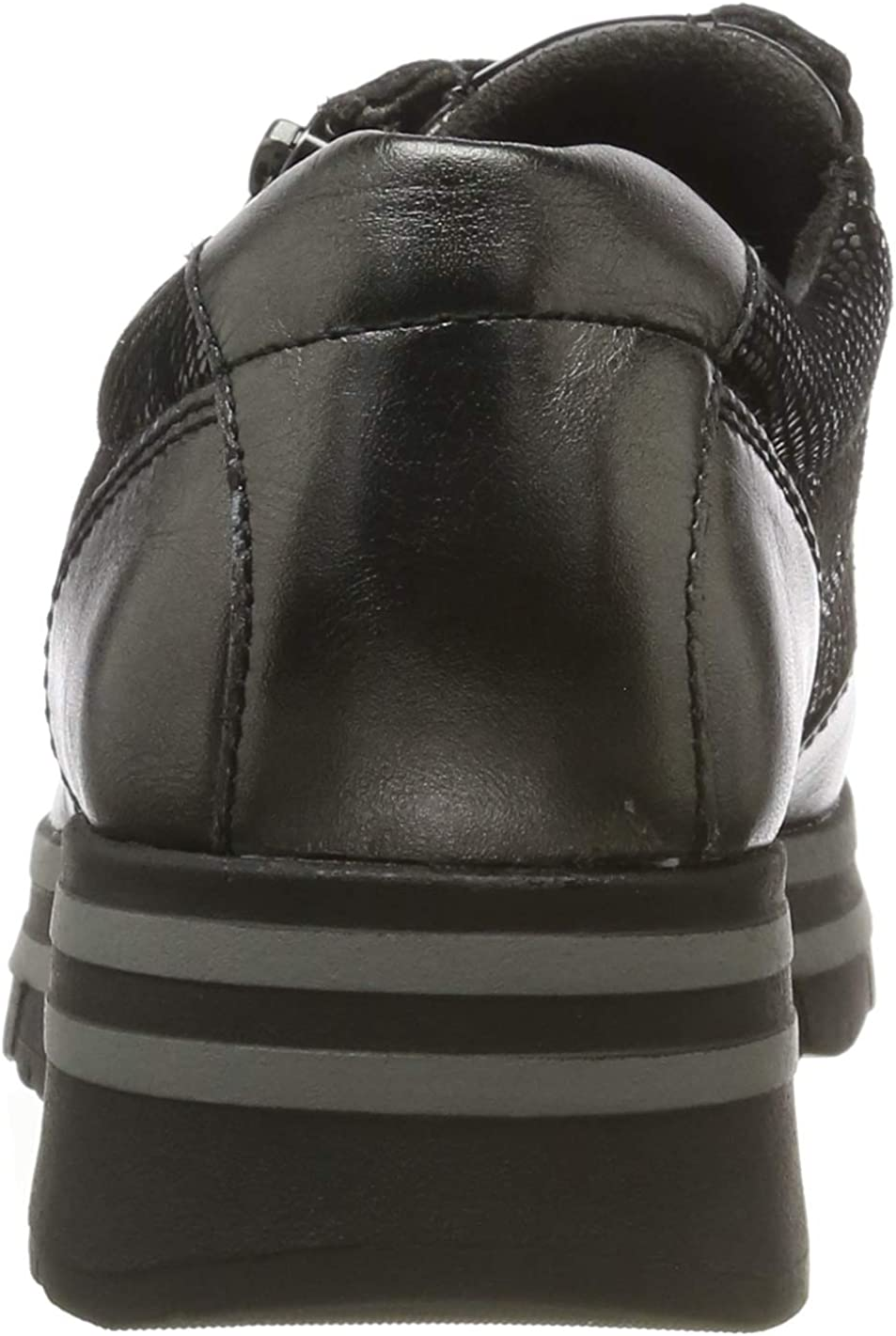 Tamaris Womens Low-Top Sneakers Anthracite Com 234 Grey 7.5 us