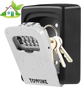 Brand New Over the Door Style Lock Box with 2 Keys per Lock Box