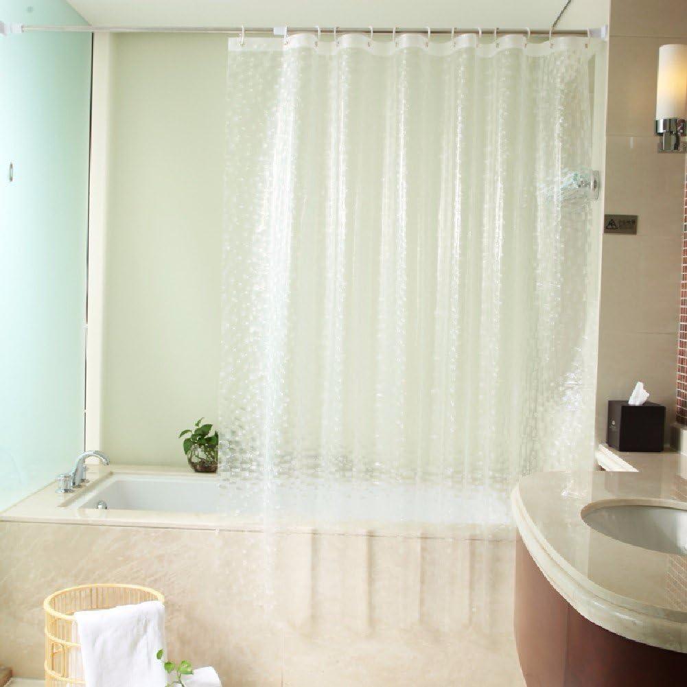 KHSKX Wasserdicht und Mehltau verdickte Duschvorhang, eleganten
