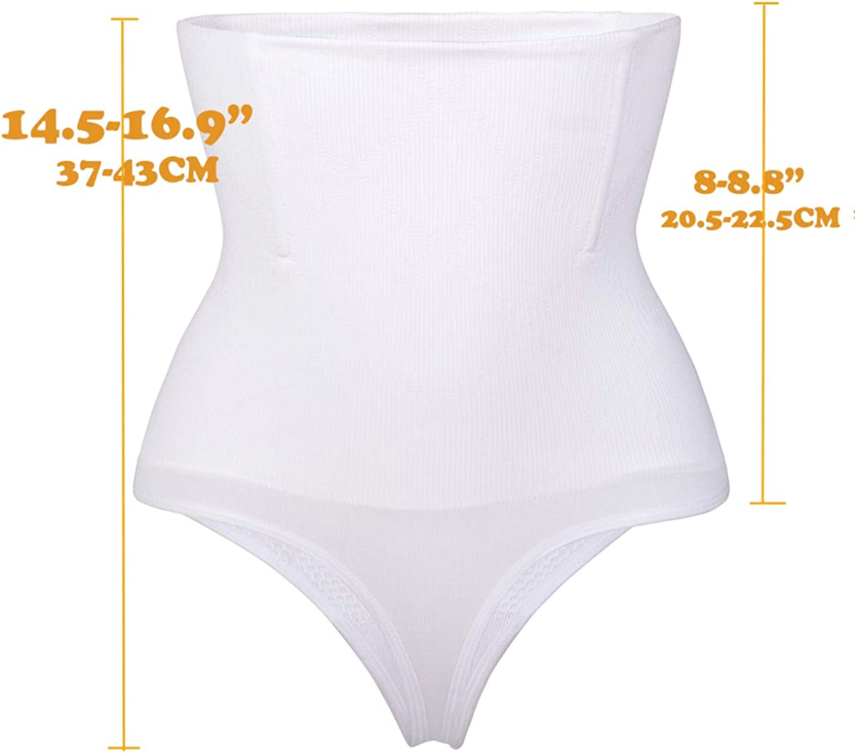 328 Thong Shaper Womens Waist Cincher Trainer High-Waisted Girdle Slimming Body Tummy Control Panty Shapewear