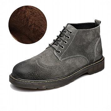 3d86d54342e4e L Automne Et L Hiver Ainsi Que le Velours Angleterre Martin Bottes Hommes  Chaussures