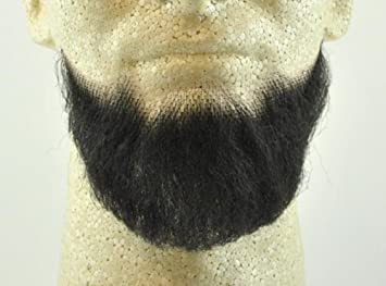 Amazon Com Full Chin Beard Black No 2023 Realistic 100 Human Hair W Spirit Gum Perfect For Theater And Stage Reusable Beauty
