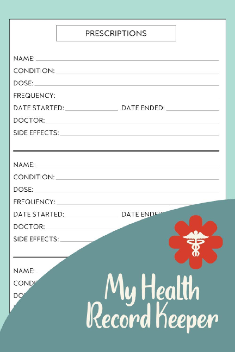 My Health Record Keeper: Organizer To Track Personal Medical History,  Medication, Doctor Visits And Much More. Health Management Log Book: Maggie  Nguyen: 9798560131753: Amazon.com: Books