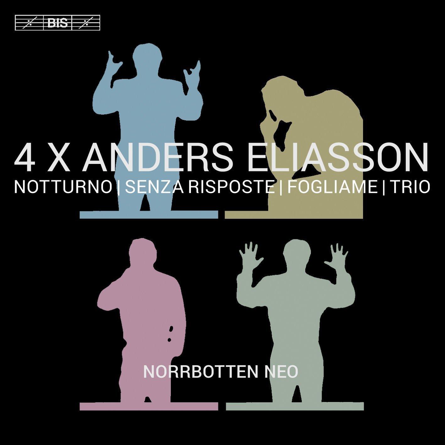 SACD : ELIASSON,A. - 4 X Anders Eliasson (Hybrid SACD)