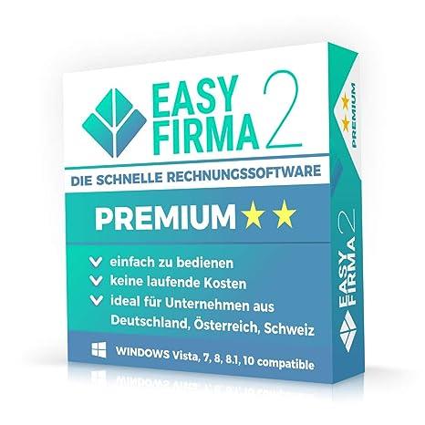 Easyfirma 2 Premium Rechnungen Angebote Lieferscheine