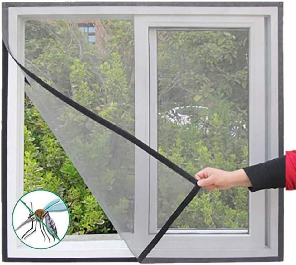 Mosquiteras for Ventanas A Medida, Exterior, Adhesiva,Sin Perforaciones Cortina, Protección contra Insectos, Fácil Instala (Color : Gray, Size : 150x130cm/59x51in): Amazon.es: Hogar