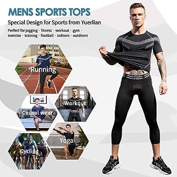 Spirio Mens Compression Performance Skinny Gym Bodybuilding Baselayer Tank Tops
