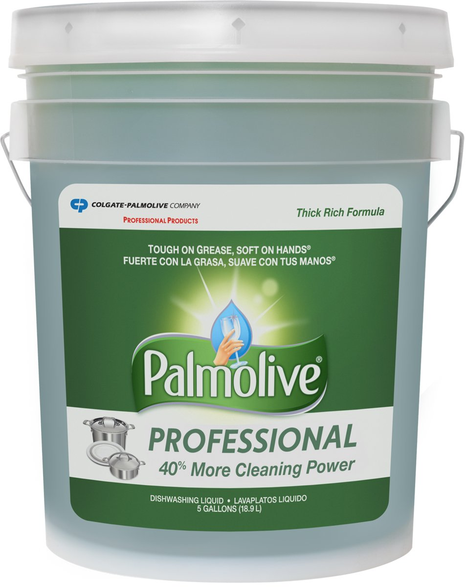 Palmolive 204917 Professional Dishwashing Liquid, 5 gal Bottle by Palmolive