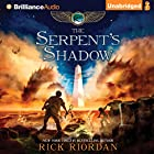 The Serpent's Shadow: The Kane Chronicles, Book 3 Audiobook by Rick Riordan Narrated by Katherine Kellgren, Kevin R. Free