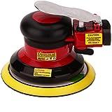 Hochwertig Druckluft Exzenterschleifer, Niedrige Vibration, Schwerlast Maschine,Max. Drehzahl:12,000 U/min, (Schleifmaschine 125mm)