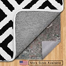 The Original Gorilla Grip (TM) FELT + RUBBER Area Rug Pad, Made In USA, Available in Many Sizes, For Hard Floors (2' x 8')