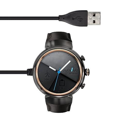kwmobile Cable de Carga para ASUS Zenwatch 3 - Conector [USB ...