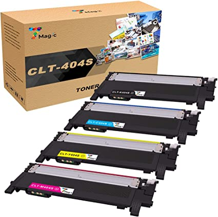 SL-C430W CLT-404S C480FW SL-C480FW 4 Color Toner Cartridge Set for Samsung