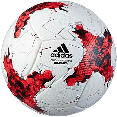 adidas Confed Cup Omb Balón de Fútbol, Hombre, (Blanco/Rojo/Rojpot ...