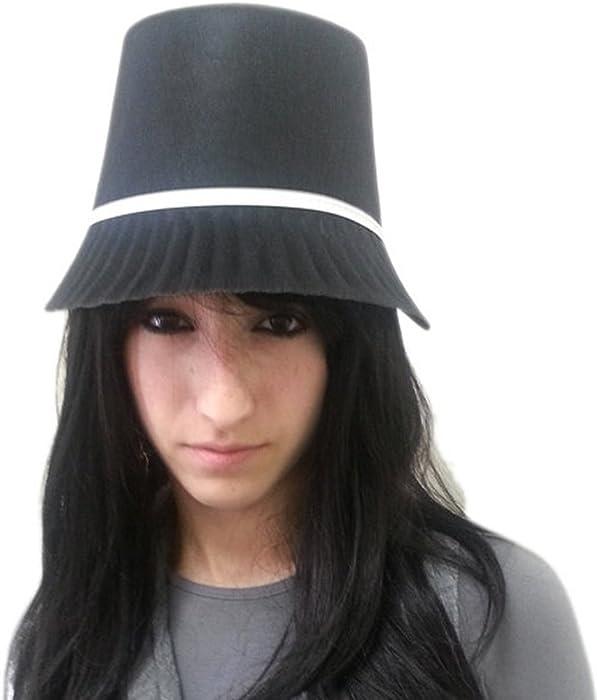 b753431c24e45 Amazon.com  Jacobson Hat Company Women s Permafelt Pilgrim Bonnet ...