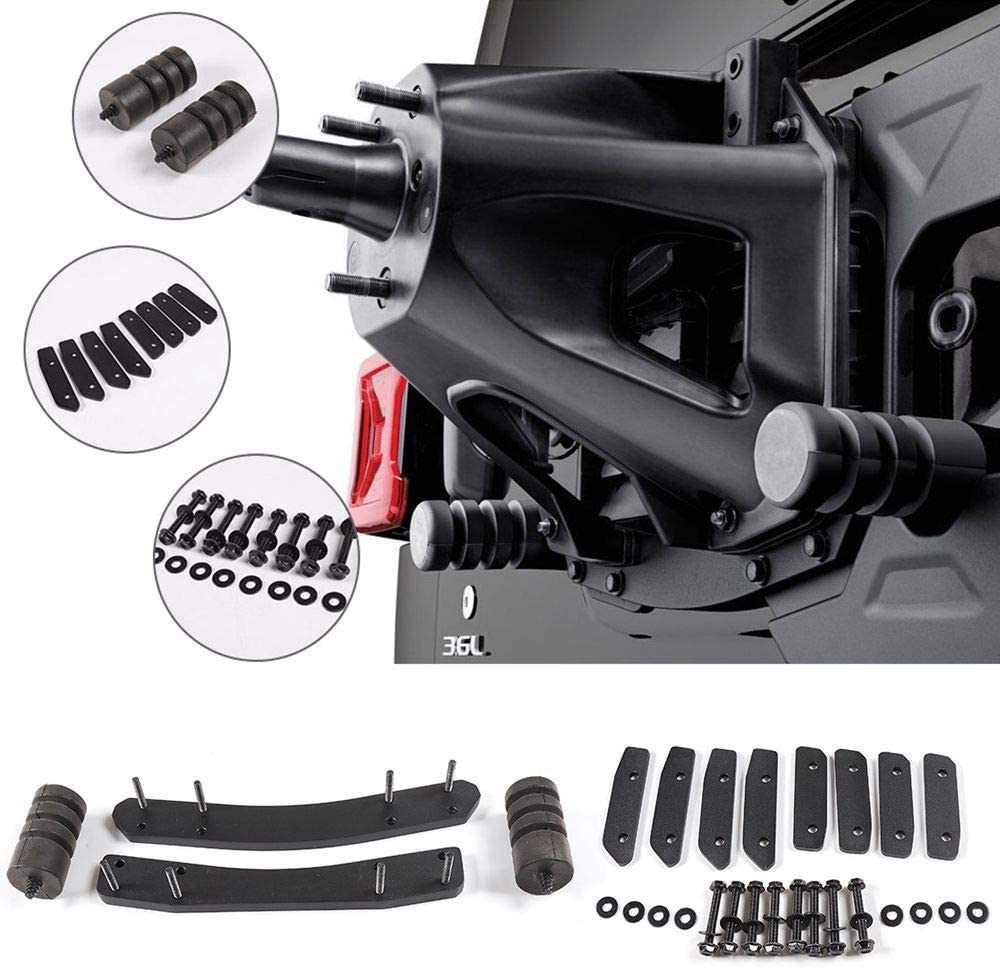 RT-TCZ Oversized Enhance Spare Tire Mounting Bracket Kit Jeep JL Accessories for 2018-2021 Jeep Wrangler JL