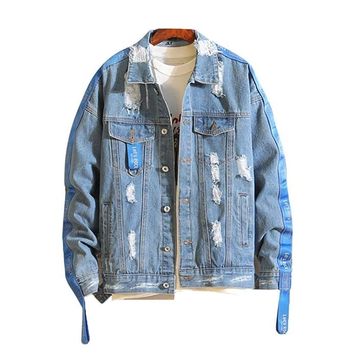 Giacca di jeans uomo giacca nera lavata blu con cappuccio Jean