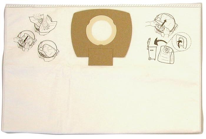 Makita P-78293 Dust Extracting Fleece Bag Nano Filter, 5-Pack