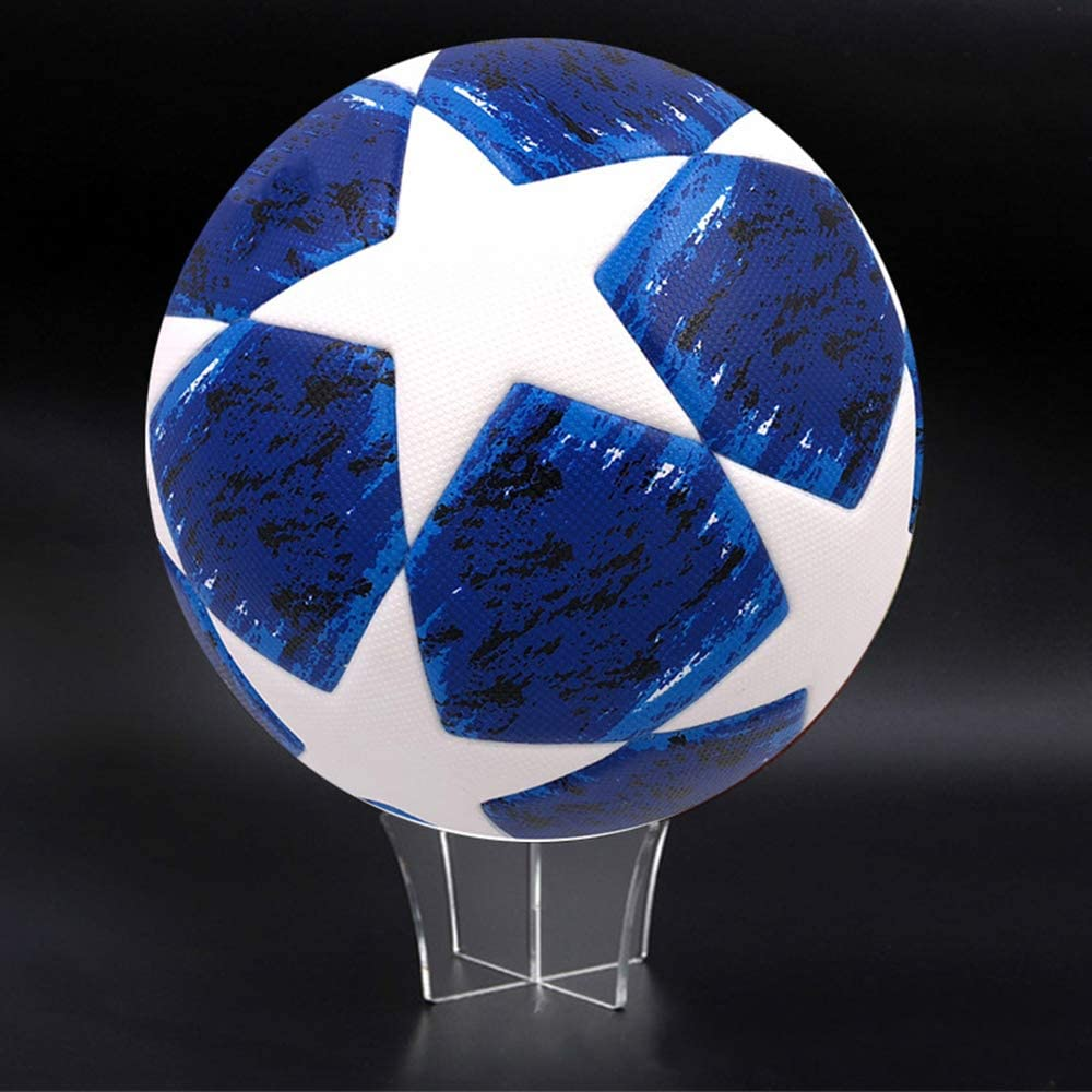 per Pallacanestro Pallacanestro Supporto per Rugby in Acrilico per Calcio da 3 Pezzi Gobesty Espositore per Palline pallavolo