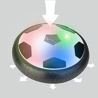 xshuai 23 * 16 * 16 cm LED Air Power Balón de fútbol Fútbol de ...