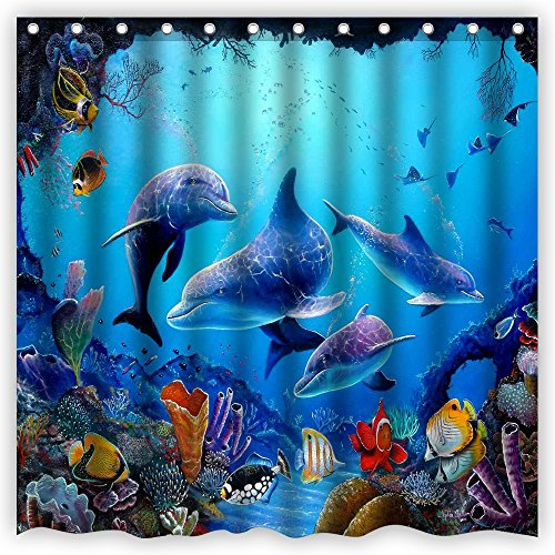 atwtow-amazing-colorful-underwater-world-landscapes-beautiful-dolphins-art-bathroom-shower-curtain72