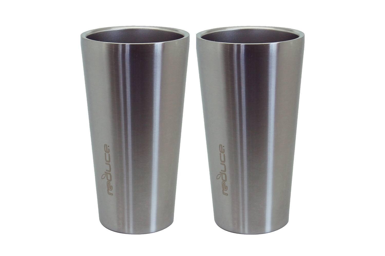 Reduce Steel Pint Vacuum Insulated Tumbler, 16oz - 2pk Set