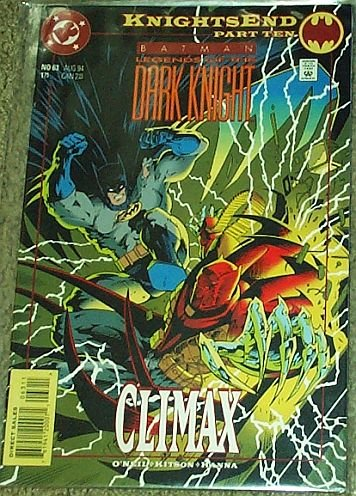 Batman Legends of the Dark Knight No. 63 Aug 1994 (Knightsend, Part Ten)