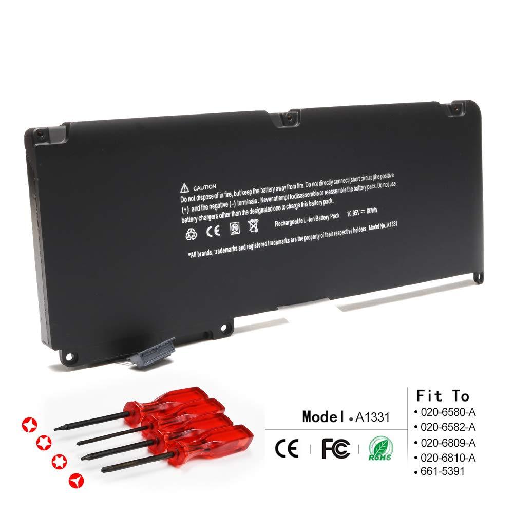 Bateria para Apple A1331 A1342 13.3 Inch MacBook Unibody for MacBook Late 2009 Mid 2010 MacBook Air MC234LL/A MC233LL/A