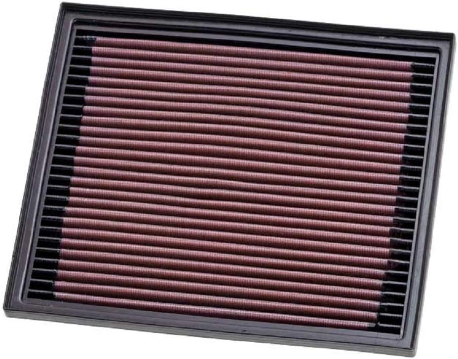 K&N Engine Air Filter: High Performance, Premium, Washable, Replacement Filter: 1996-2019 CITROEN/PEUGEOT/LAND ROVER/VAUXHALL (C4, DS5, Expert,2008, 5008, Discovery, Range Rover, Crossland X), 33-2119