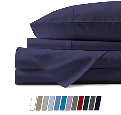 Amazon.com: Mayfair Linen 100% Egyptian Cotton Sheets, Plum Twin