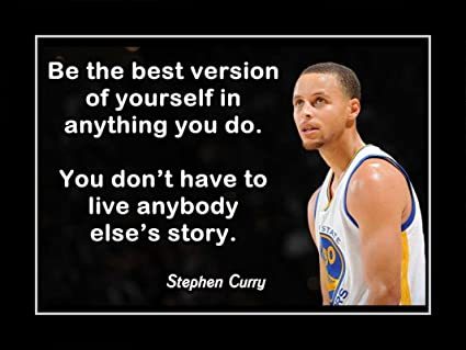 Player Poster 12 x 18 inch Wardell Stephen Curry Get Motivation Stephen Curry