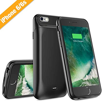 Amazon.com: FUNDA BATERIA PARA IPHONE 6/6S 6S PLUS 7/8 PLUS ...